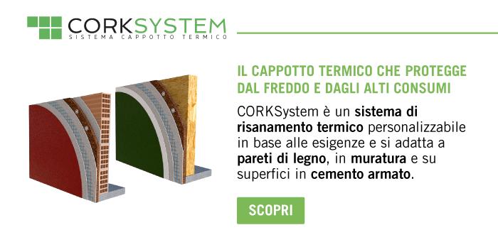 Cappotto termico Corksystem