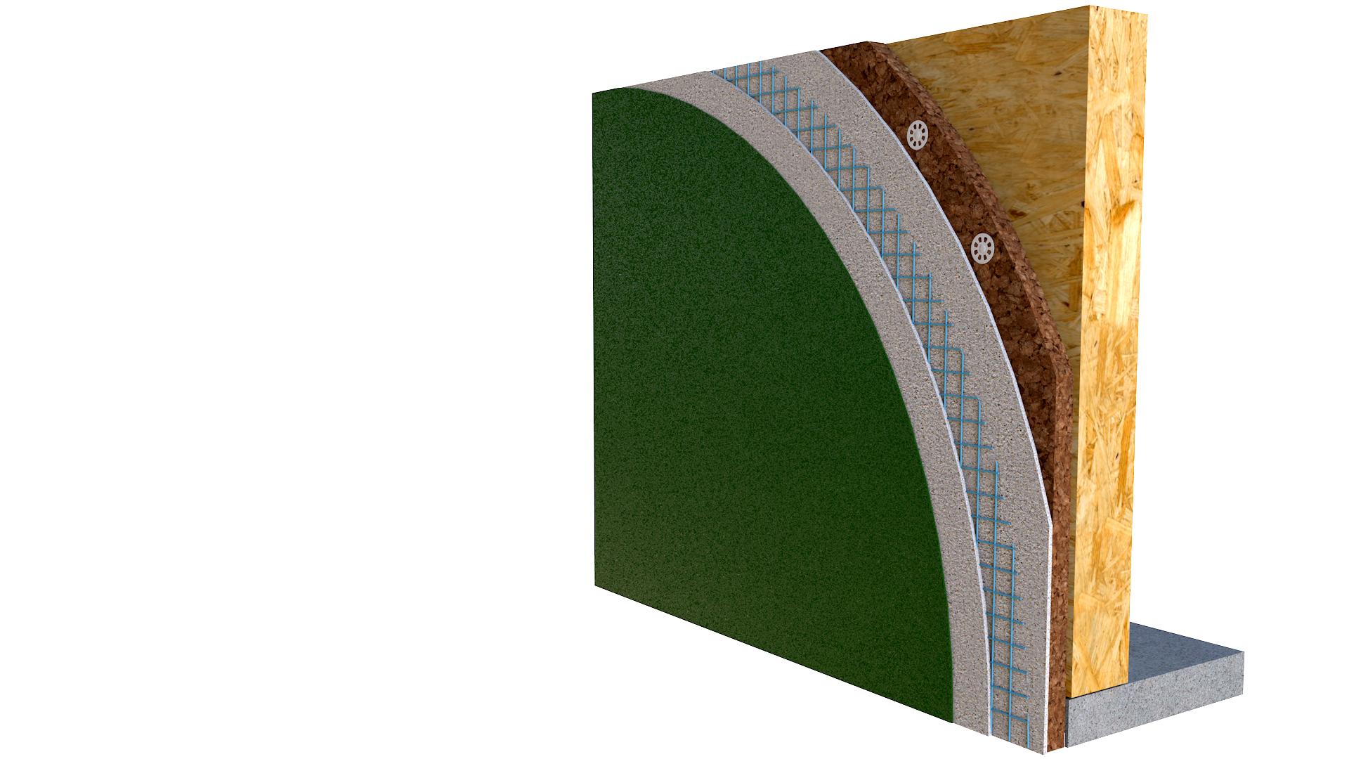 Cappotto termico | BetonTherm Cork