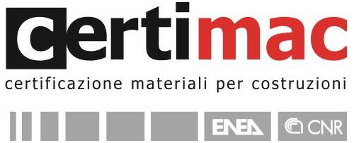 Certimac certificazioni materiali per costruzione