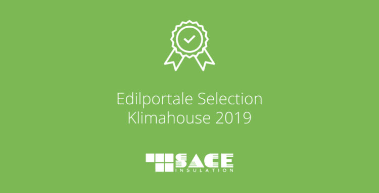 SACE Insulation nella Edilportale Selection 2019